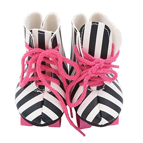 Zeagro Puppen Rollschuhe Skate Schuhe Dress Up für 45,7 cm American Girl Puppen BJD SD Baby Puppen Kostüm Set
