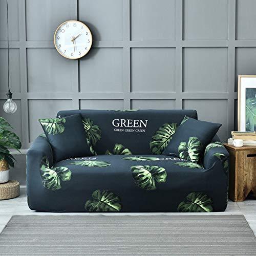 WEDZB Sofa hoes,Sofa Hoes Hoes Bedrukt Elastisch Stretch Couch Cover Case voor Hoekbank Enkel/Twee/Drie/Vierzits, Kleur 14,2 zits 145.185 cm
