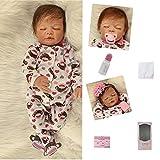 ZIYIUI 22 Zoll Reborn Puppen Handgemachte Realistische Real Life Baby Mädchen Reborn Puppen Weiche Silikon Vinyl 55 cm