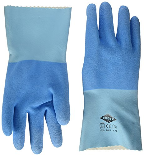 Cogex 83281 - Par de guantes de albañilería, de látex, tamaño 10