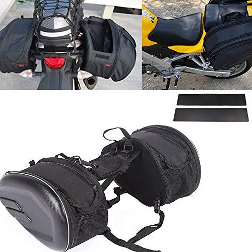 Baedivg Motocicleta Impermeable Carrera de Carreras Moto Casco Bolsas de Viaje Maleta Alforjas, para BMW, para Honda, para ruinan