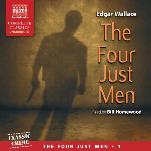 The Four Just Men audiobook cover art