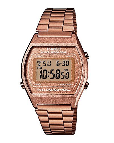Casio Casio-24897–Armbanduhr, Edelstahl-Armband
