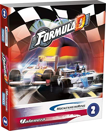 Zygomatic- Formula d Circuito 2: hockenheim - Valencia - Varios Idiomas, Color (Asmodee FOR03ML)