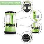LE LED Camping Lantern with 2 Detachable Torches, USB Rechargeable and Battery Operated, 600 Lumen Tent Light, Outdoor… 4