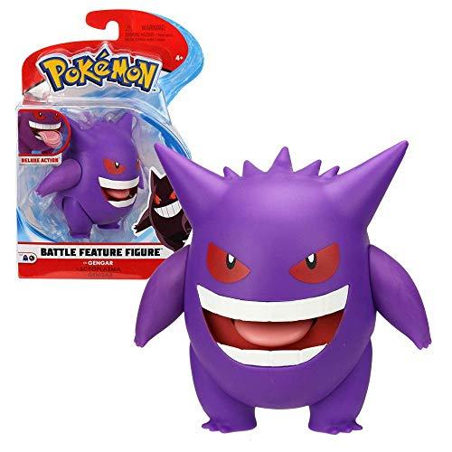 Auswahl Battle Feature Figuren   Pokemon   bewegliche Deluxe Action Figur, Spielfigur:Gengar