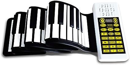 Enrollar el Piano Piano enrollados a Mano 88key con el ...