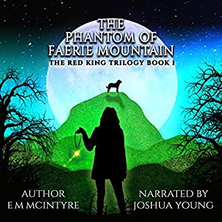 The Phantom of Faerie Mountain audiobook cover art