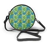 Meiya-Design Jungle Time On Aqua - Bolso de mano con bandolera