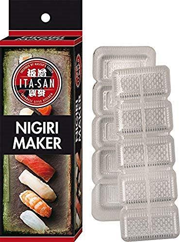 ITA-SAN Nigiri Former für Sushi für 5 Nigiris, aus Kunststoff, einfache und...