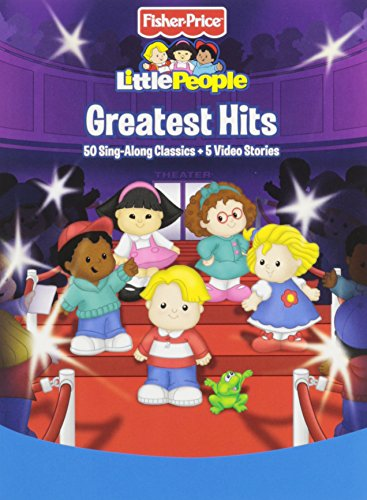 Fisher-Price Little People Greatest Hits 50 Sing-Along Classics + 5 Video Stories