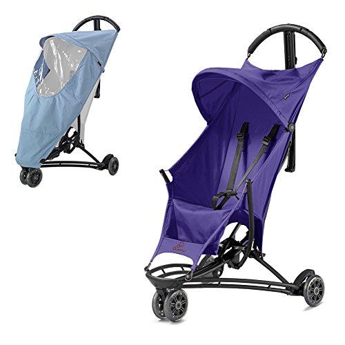 Quinny Yezz Stroller violett Pace mit Regenschutz