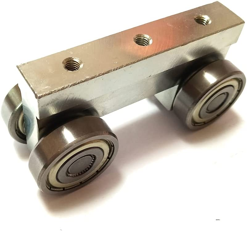 Industry No. 1 RHKING 4 Wheel Outlet ☆ Free Shipping M5 Thread S Assembly Super Roller Trolley