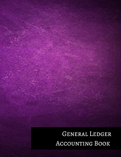 General Ledger Accounting Book
