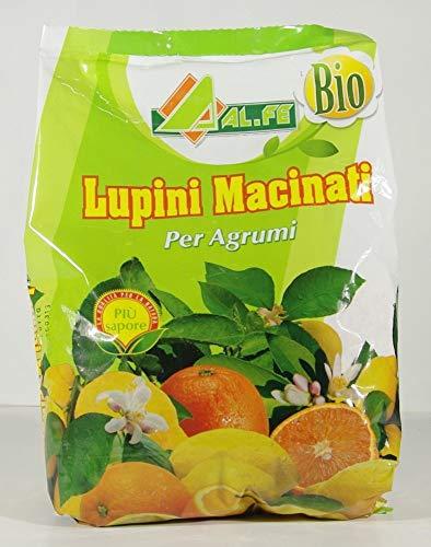 Engrais biologique-BASED SOL LUPINS POUR LES AGRUMES ET Plantes acidophiles DANS UN PACK DE 1 KG