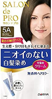 ダリヤ サロンドプロ 早染めクリーム 5A(深みのあるアッシュブラウン)6個セット 【医薬部外品】