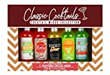 Thoughtfully Gifts, Classic Cocktails Mixer Collection, Flavors: Traditional Margarita, Whiskey Sour, Blood...