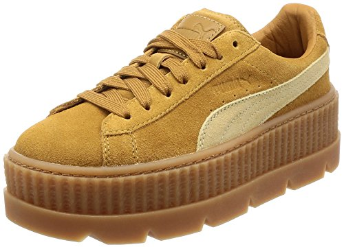 Puma X Fenty Wmn Cleated Creeper Golden Größe: 5(38) Farbe: Brown