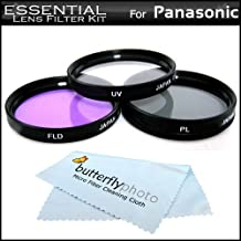 Essential Filter Kit For Panasonic HDC-TM700K HDC-SD600 HDC-HS700K HDC-SDT750K HDC-TM900 HDC-HS900 HDC-SD800, HC-V720, HC-V700 Digital Camcorder Includes 46mm 3pc Filter Kit (UV-CPL-FLD) + More