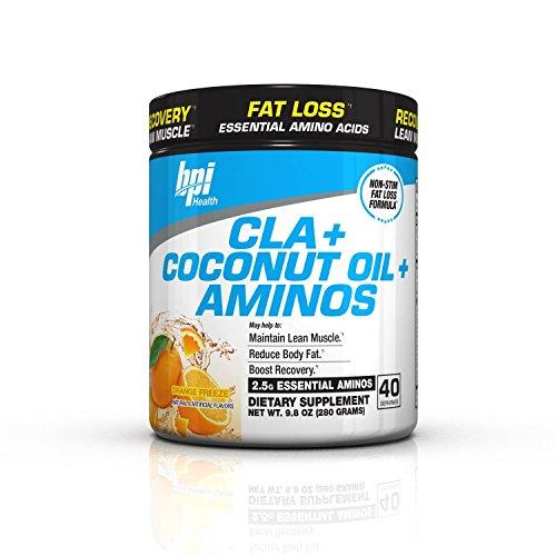 BPI Sports Cla + Coconut Oil + Aminos, Non Stimulant Fat Management Powder 280 gms