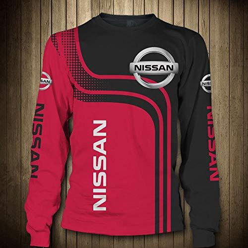Hoodiepullover 3D-Sweatshirts - Nissan Printed Unisex Langarm-Kapuzenjacke Sport Frühlings-T-Shirt-Oberbekleidung - Teens Geschenk Long Sleeve Tops-XXL