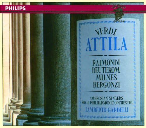 Ruggero Raimondi, Cristina Deutekom, Sherrill Milnes, Carlo Bergonzi, Royal Philharmonic Orchestra & Lamberto Gardelli