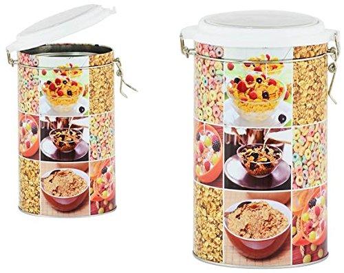 AVENUELAFAYETTE Boîte Pot hermétique métal Céréales