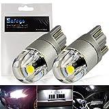 Safego 2x Super Brillante 501 T10 W5W 2SMD 3030 LED Blanco Bombilla de Luz de Coche Interior Luces de Circulación Diurna 12V 6000K