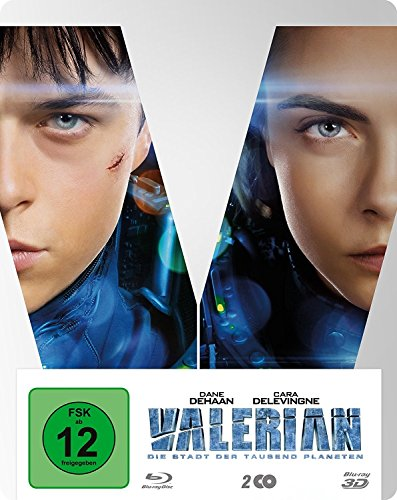 Produktbild von Valerian - Die Stadt der tausend Planeten BD 3D/2D Steelbook + digitale Copy (exklusiv bei Amazon.de) [3D Blu-ray] [Limited Edition]