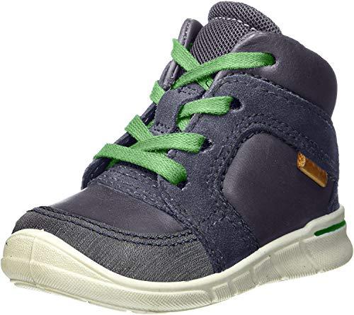 ECCO Baby Jungen First Lauflernschuhe Sneaker, Blau (Marine/Marine), 22 EU