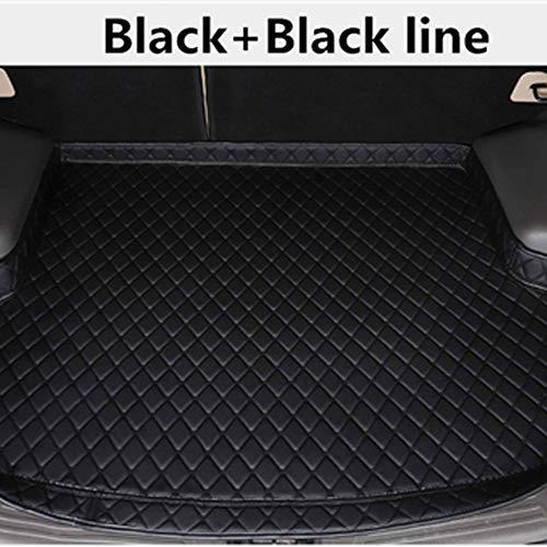 SBCX Für Nissan sylphy sentra 2012 2013 2018Leder Auto hinten kofferraummatte high Side Cargo Tray Boot Liner Carpet All Weather