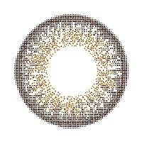 リッチスタンダード スタンダードシリーズ カラーコンタクトレンズ 14.2mm 1day 10枚入り (度数:-9.50, マッチブラウン)