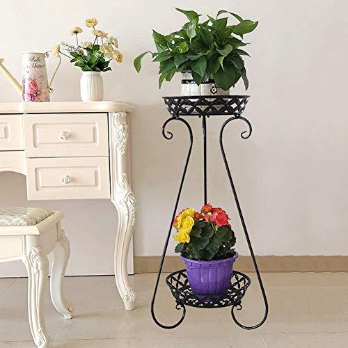 LNLJ Metalen hoge plant voor binnen en buiten, Iron Art bloempot houder kleine plantenhouder, geschikt voor huis, tuin, terras