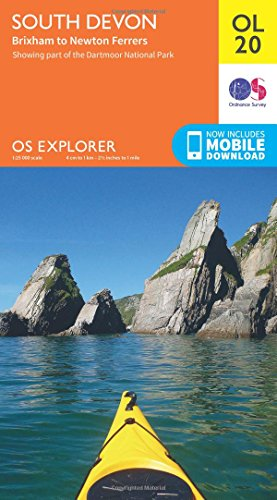 OS Explorer OL20 South Devon, Brixham to Newton Ferrers (OS Explorer Map)