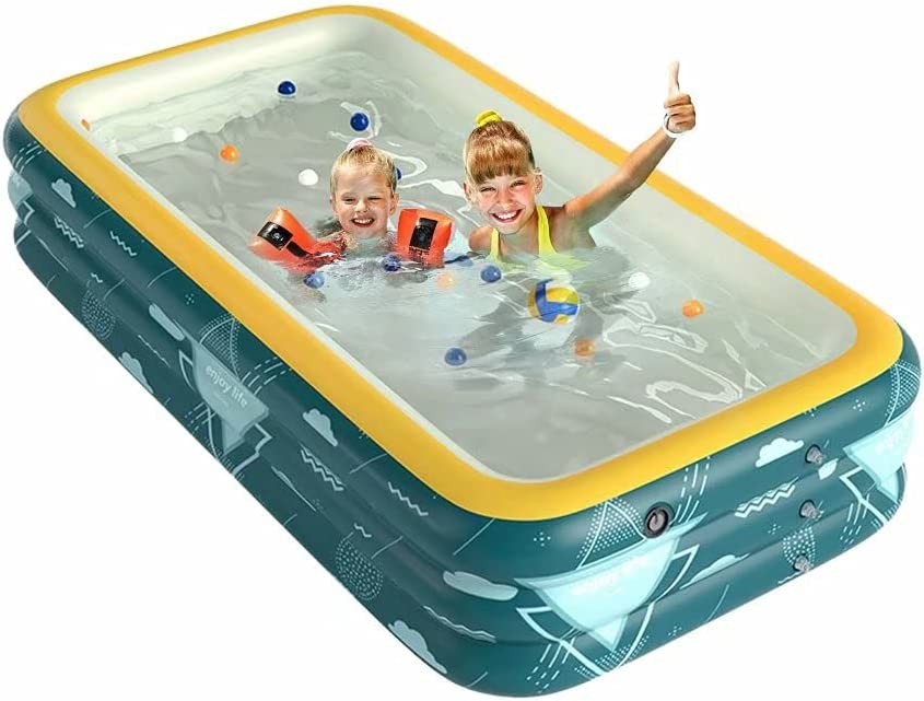 Inflatable Popularity Swimming Pool Full Inventory cleanup selling sale Kid Size Thickened PVC