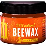 """ABOUT THIS ITEM *NEW AROMATIC """"SWEET ORANGE"""" SCENT *ALL NATURAL INGREDIENTS: This wood wax is made entirely from Natural Beeswax with a hint of Palm Wax and Sweet Orange Oil. It is Chemical-free with no Paraffins. It is Safe and Good for the Environm..."""