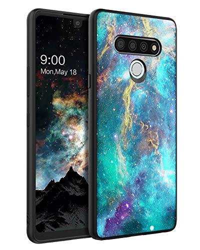 BENTOBEN Compatible with LG Stylo 6 Case, LG Stylo 6 Phone Case, Slim Fit Glow in The Dark Soft Flexible Bumper Anti Scratch Non-Slip Protective Cute Case for LG Stylo 6 2020, Nebula/Galaxy Design