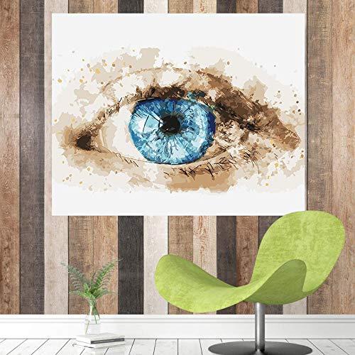 AQgyuh Puzzle 1000 Piezas Ojos de Arte Creativo Puzzle 1000 Piezas paisajes Rompecabezas de Juguete de descompresión intelectual50x75cm(20x30inch)