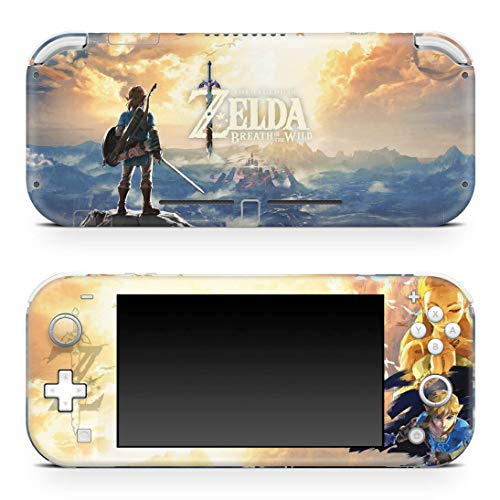 Skin Adesivo para Nintendo Switch Lite - Zelda Breath Of The Wild