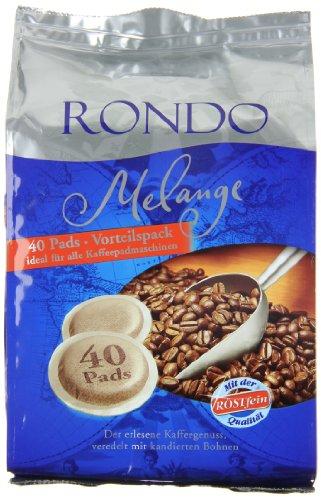 Röstfein Rondo Melange (40 Pads), 5er Pack (5 x 280 g)