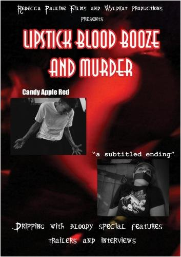 Candy Apple Red: Lipstick,blood,booze and murder DVD