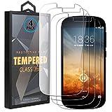 Ycloud 4 Pack Screen Protector Für Yotaphone 2, HD Transparent [9H Festigkeit, Anti-Kratzen, Anti-Öl, Anti-Bläschen] Panzerglasfolie Für Yotaphone 2