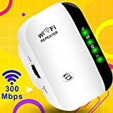 WiFi Booster Superboost WiFi Range Extender Wi-fi Repeater Wireless Signal Booster,2.4G Network WiFi Signal Amplifier/AP,300Mbps WiFi Access Point,Easy Set-Up,Internet Booster Wireless Range Extender