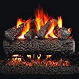 Peterson Real Fyre 20-Inch Post Oak Gas Logs (Logs Only - Burner Not Included)
