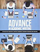Advance in Academic Writing 2 - Student Book with eText & My eLab (12 months)