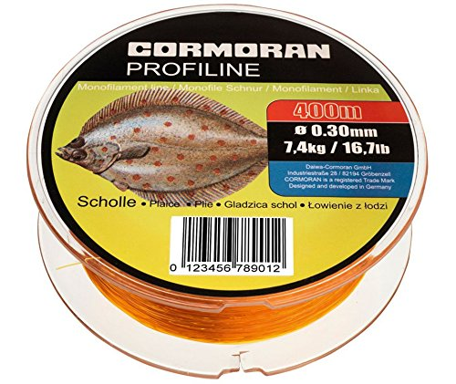 Cormoran Profiline Scholle fluo-orange 0.30mm 7.4kg 400m