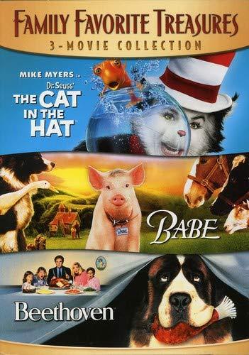 家庭收藏珍宝3  - 电影全集(该戴帽子的猫/贝贝/贝多芬)