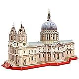 CubicFun Puzzle 3D London St. Paul's Cathedral Las Grandes Arquitecturas del Mundo, 107 Piezas