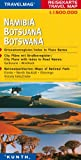 Reisekarte : Namibia - Botswana -