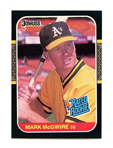 1987 Donruss Rated Rookie #46 MARK MCGWIRE Oakland A